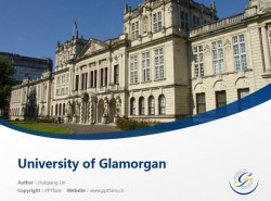 University of Glamorgan powerpoint template download | 南威尔士大学PPT模板下载
