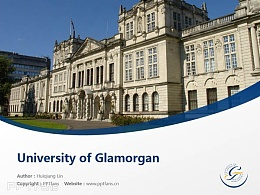 University of Glamorgan powerpoint template download | 南威爾士大學PPT模板下載