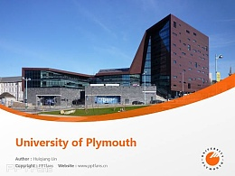 University of Plymouth powerpoint template download | 普利茅斯大學PPT模板下載