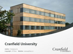 Cranfield University powerpoint template download | 克兰菲尔德大学PPT模板下载