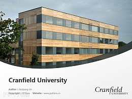 Cranfield University powerpoint template download | 克蘭菲爾德大學PPT模板下載
