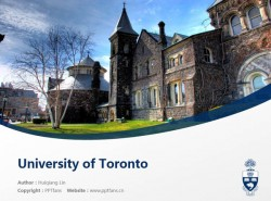 University of Toronto powerpoint template download | 多伦多大学PPT模板下载