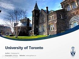 University of Toronto powerpoint template download | 多伦多大学PPT模板下载