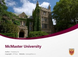 McMaster University powerpoint template download | 麦克马斯特大学PPT模板下载