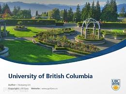 University of British Columbia powerpoint template download | 英属哥伦比亚大学PPT模板下载