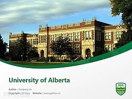 University of Alberta powerpoint template download | 阿尔伯塔大学PPT模板下载