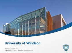 University of Windsor powerpoint template download | 温莎大学PPT模板下载