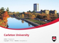 Carleton University powerpoint template download | 卡尔顿大学PPT模板下载