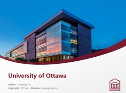 University of Ottawa powerpoint template download | 渥太华大学PPT模板下载