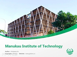 Manukau Institute of Technology powerpoint template download | 马努考理工学院PPT模板下载