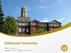 Dalhousie University powerpoint template download | 戴尔豪西大学PPT模板下载