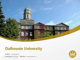 Dalhousie University powerpoint template download | 戴尔豪西大学PPT模板下载