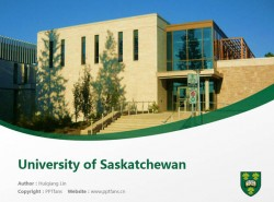 University of Saskatchewan powerpoint template download | 萨省大学PPT模板下载