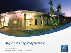 Bay of Plenty Polytechnic powerpoint template download | 丰盛湾理工学院PPT模板下载