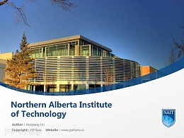 Northern Alberta Institute of Technology powerpoint template download | 北阿尔伯塔理工学院PPT模板下载