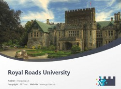 Royal Roads University powerpoint template download | 皇家路大学PPT模板下载
