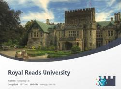 Royal Roads University powerpoint template download | 皇家路大学PPT模板下载