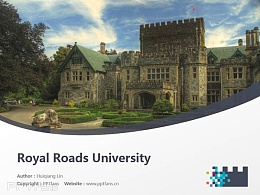 Royal Roads University powerpoint template download | 皇家路大学PPT模板?#30053;? title=