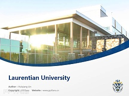 Laurentian University powerpoint template download | 劳伦森大学PPT模板下载