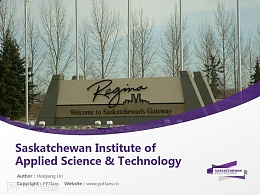 Saskatchewan Institute of Applied Science & Technology powerpoint template download | 萨省应用科技学院PPT模板?#30053;? title=