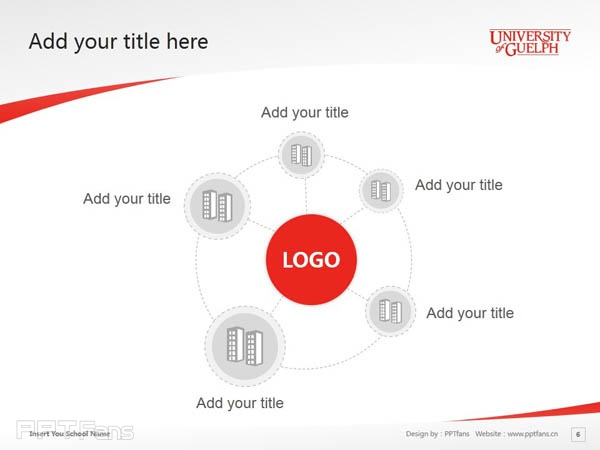 University of Guelph powerpoint template download | 圭尔夫大学PPT模板下载_幻灯片预览图7