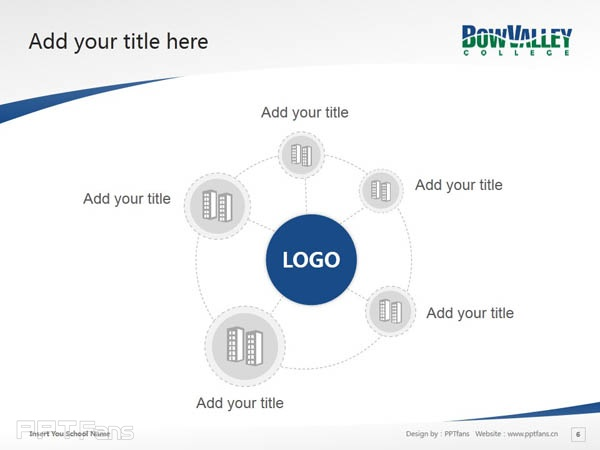 Bow Valley College powerpoint template download | 博瓦立学院PPT模板下载_幻灯片预览图7