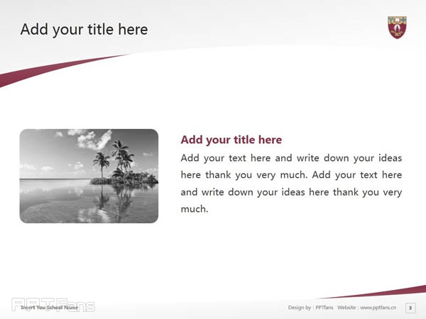 University of Canterbury powerpoint template download | 坎特伯雷大学PPT模板下载_幻灯片预览图4