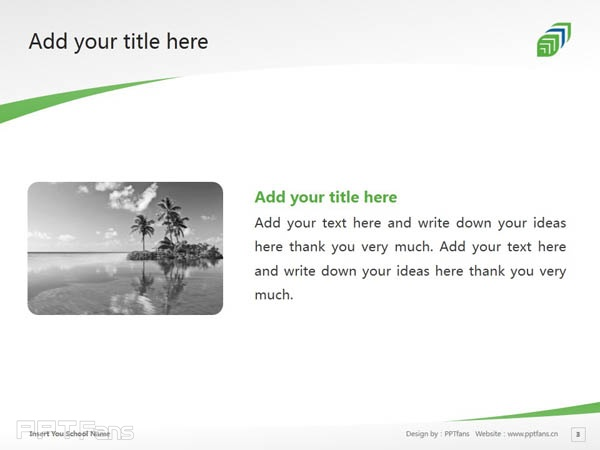 Georgian College of Applied Arts and Technology powerpoint template download   乔治亚学院PPT模板下载_幻灯片预览图4
