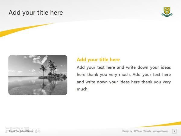 University of Regina powerpoint template download | 里贾纳大学PPT模板下载_幻灯片预览图4