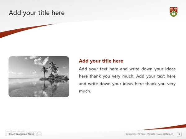 University of Prince Edward Island powerpoint template download | 爱德华王子岛大学PPT模板下载_幻灯片预览图4