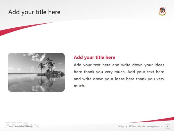 University of Winnipeg powerpoint template download | 温尼伯大学PPT模板下载_幻灯片预览图4