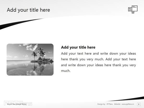 Ontario College of Art & Design powerpoint template download | 安大略艺术设计学院大学PPT模板下载_幻灯片预览图4