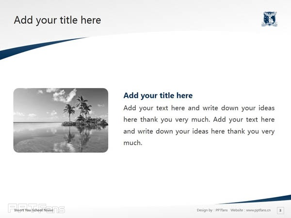 The University of Melbourne powerpoint template download | 墨尔本大学PPT模板下载_slide4