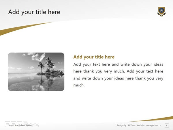 the university of queensland powerpoint template download  昆士兰, Presentation
