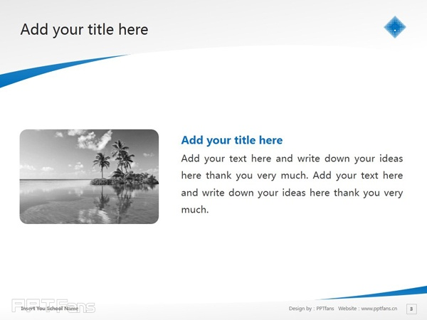 Victoria University powerpoint template download | 维多利亚大学PPT模板下载_slide4