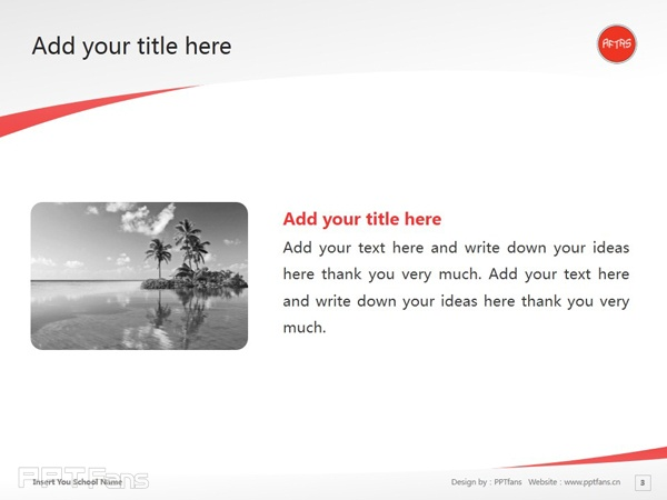 Australian Film Television and Radio School powerpoint template download | 澳洲广播电视电影学校PPT模板下载_slide3