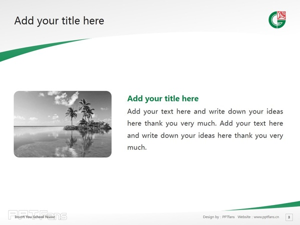 Central Gippsland Institute of TAFE powerpoint template download | 中吉普斯兰理工学院PPT模板下载_幻灯片预览图4