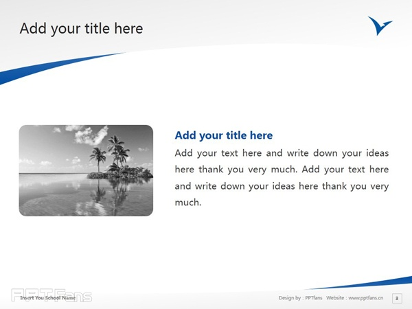 University of Western Sydney powerpoint template download | 西悉尼大学PPT模板下载_slide4