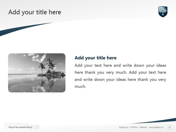 Northern Sydney Institute of TAFE powerpoint template download | 北悉尼技术与继续教育学院PPT模板下载_幻灯片预览图4