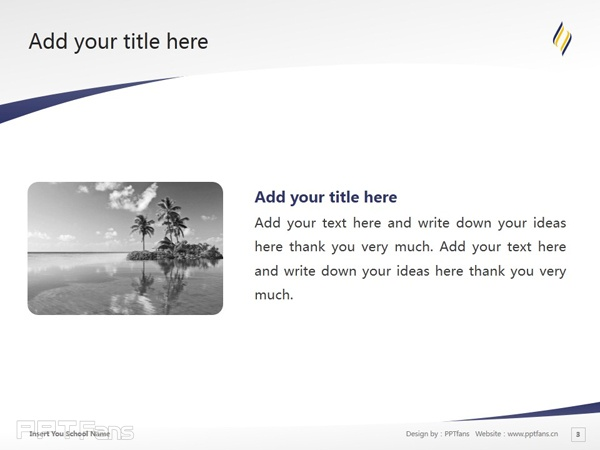 Avondale College powerpoint template download | 阿文代尔高等教育学院PPT模板下载_slide4
