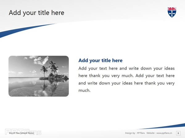 University of Newcastle upon Tyne powerpoint template download | 纽卡斯尔大学PPT模板下载_slide4