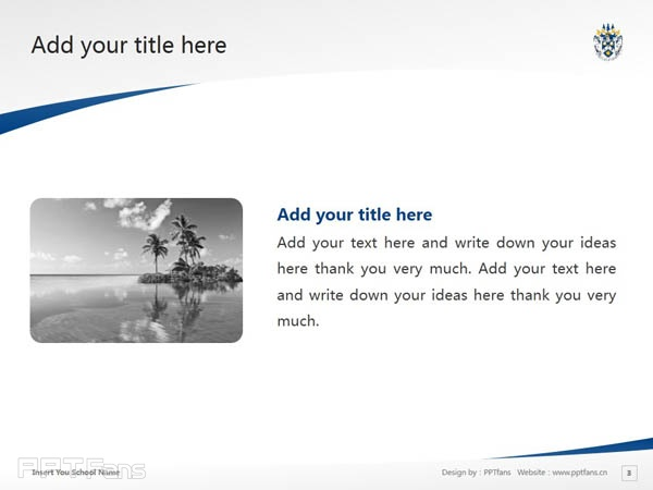 Laurentian University powerpoint template download   劳伦森大学PPT模板下载_幻灯片预览图4