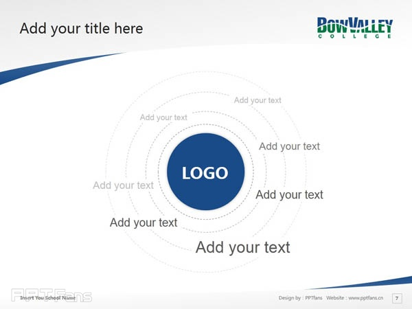 Bow Valley College powerpoint template download | 博瓦立学院PPT模板下载_幻灯片预览图8