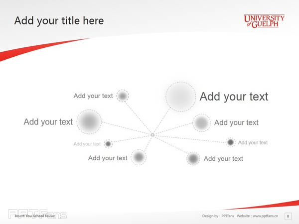 University of Guelph powerpoint template download | 圭尔夫大学PPT模板下载_幻灯片预览图9