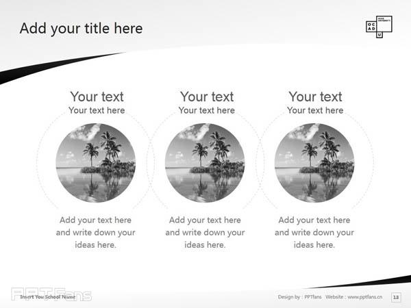 Ontario College of Art & Design powerpoint template download | 安大略艺术设计学院大学PPT模板下载_幻灯片预览图14