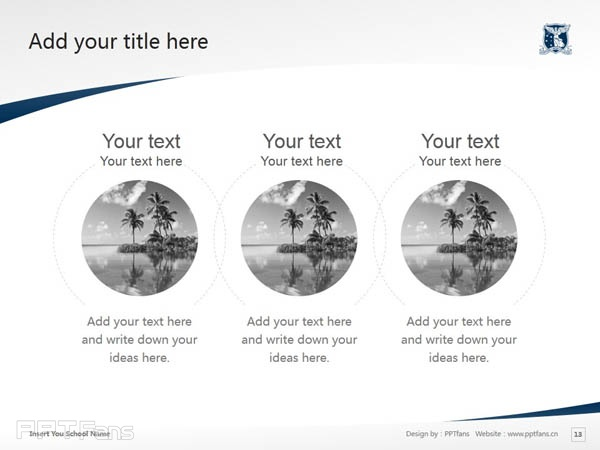 The University of Melbourne powerpoint template download | 墨尔本大学PPT模板下载_slide14