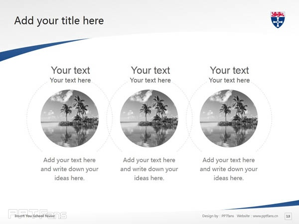 University of Newcastle upon Tyne powerpoint template download | 纽卡斯尔大学PPT模板下载_slide14