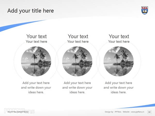 University of Victoria powerpoint template download | 维多利亚大学PPT模板下载_slide13
