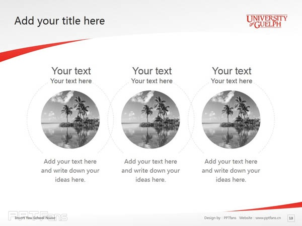 University of Guelph powerpoint template download | 圭尔夫大学PPT模板下载_幻灯片预览图14