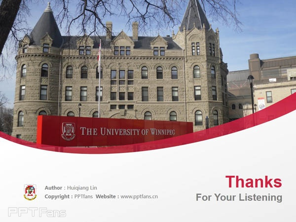 University of Winnipeg powerpoint template download | 温尼伯大学PPT模板下载_幻灯片预览图18